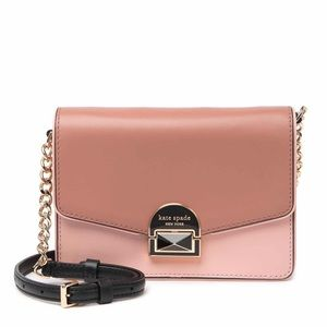 NWT Kate Spade Leather Two Tone Crossbody Bag